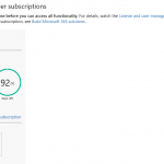Microsoft Develover Subscriptions active for 92 days