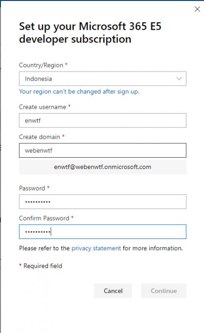 Set Up Your Microsoft 365 E5 Developer Subscription