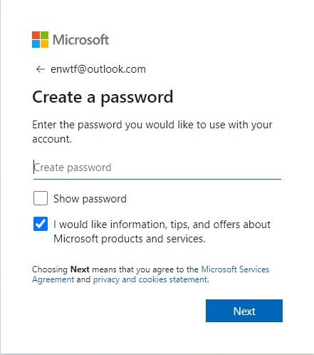register microsoft account