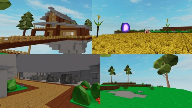 Roblox SkyBlox [Content Deleted] and Change the Name to Roblox Islands
