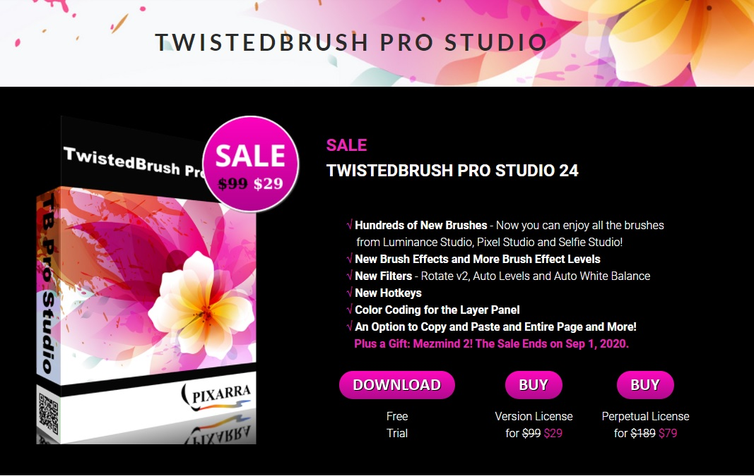 Free Download and Lisence TwistedBrush Pro Studio [for PC]
